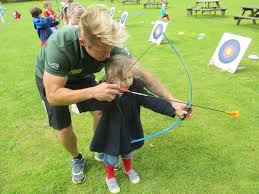 Maths Day inc. Robin Arrows archery