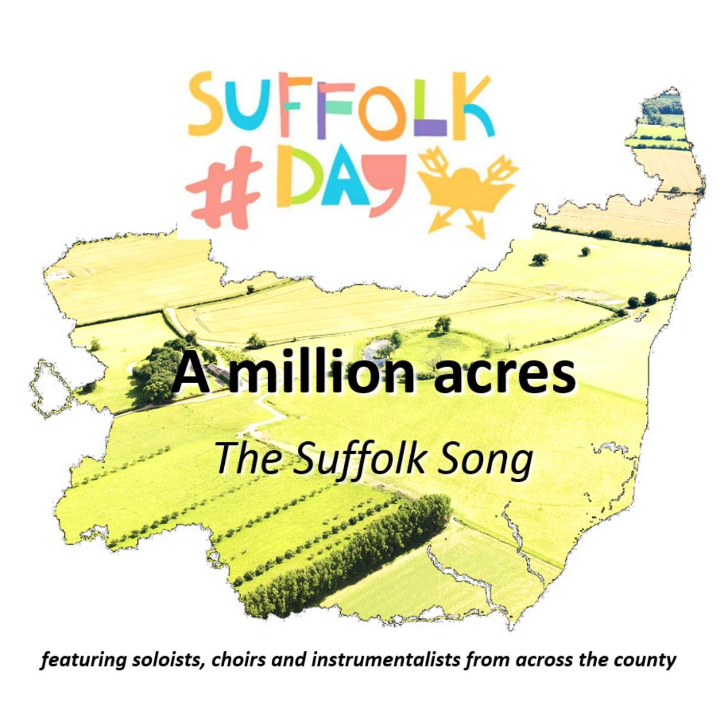 The Suffolk song - 'A million acres' - official release