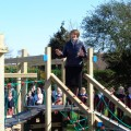 Official opening of new play area