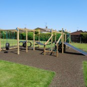 Soft-surface play equipment