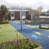 Key Stage 1 playground